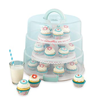 Sweet Creations 3 Tier, Collapsible Cupcake Carrier