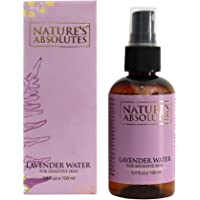 Nature's Absolutes Lavender Water for Sensitive Skin, 100ml