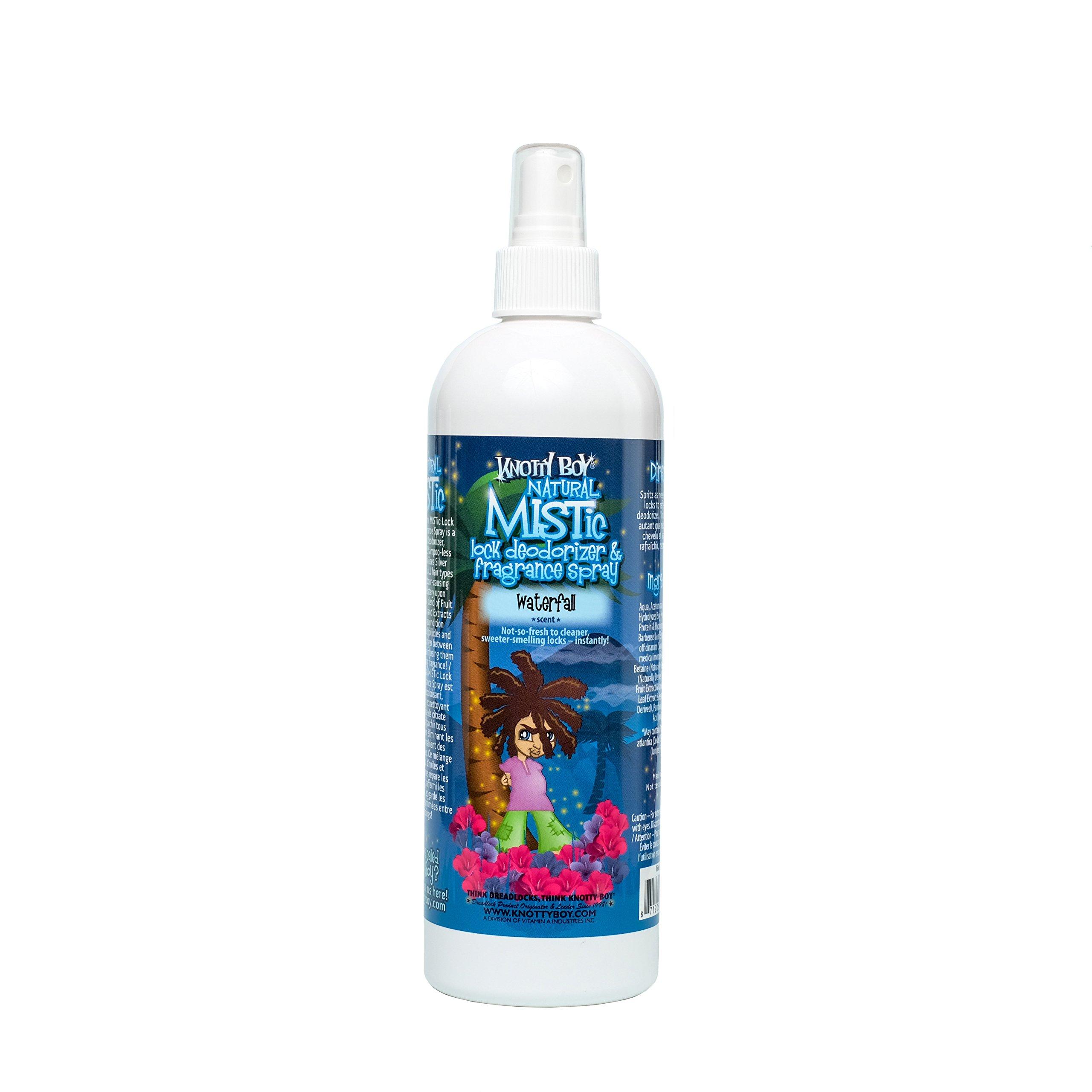 Knotty Boy Dreadlock Deodorizer & Fragrance Spray Waterfall 16oz