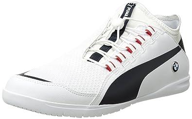 0662b95b03a1 PUMA Men s BMW MS F Cat Ignite Sneaker White-Team Blue