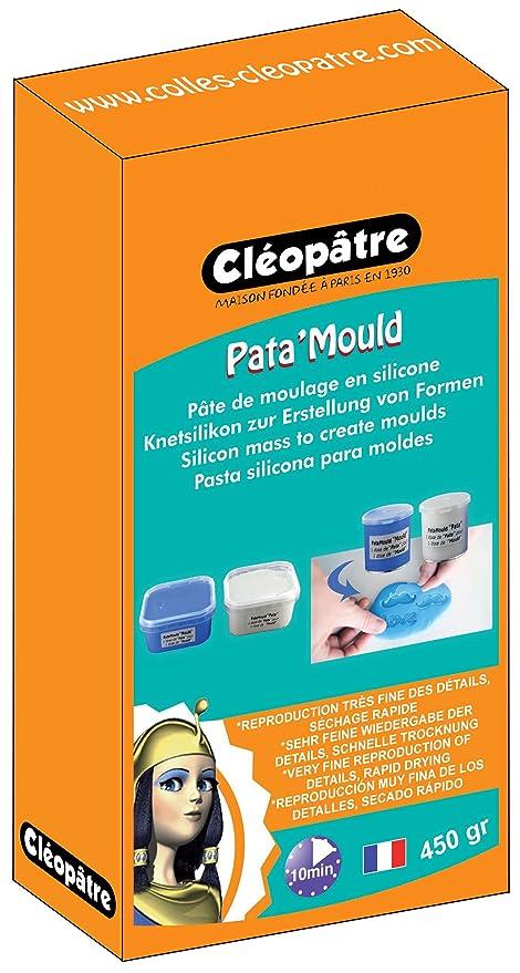 Cleopatre - LCC22-450-E1 - Pasta de silicona para hacer moldes, bicomponente