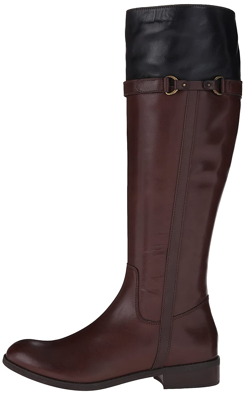 CLARKS Women's Pita Topeka Riding Boot B00U7LNRLQ 10 B(M) US|Dark Brown Leather