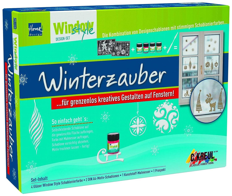 KREUL 74700 - Window Style Design Set Winterzauber: Amazon.de: Spielzeug