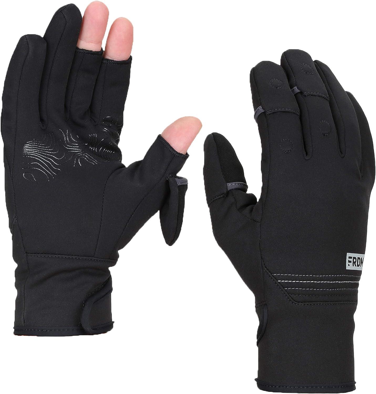 LIFE Convertible Running Gloves Cycling race convertible flip gloves