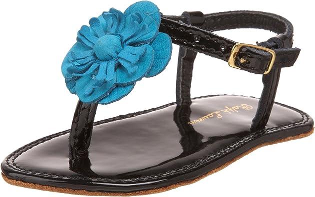 Floral T-Strap Sandal (Infant/Toddler