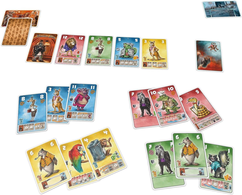 Zoch Beasty Bar-Juego de Cartas, Multicolor (Simba 601105155 ...