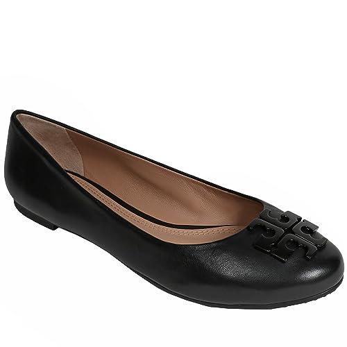 2362bf3167d45 inexpensive tory burch lowell 2 ballet flat mestico black 7.5 e82c7 729df