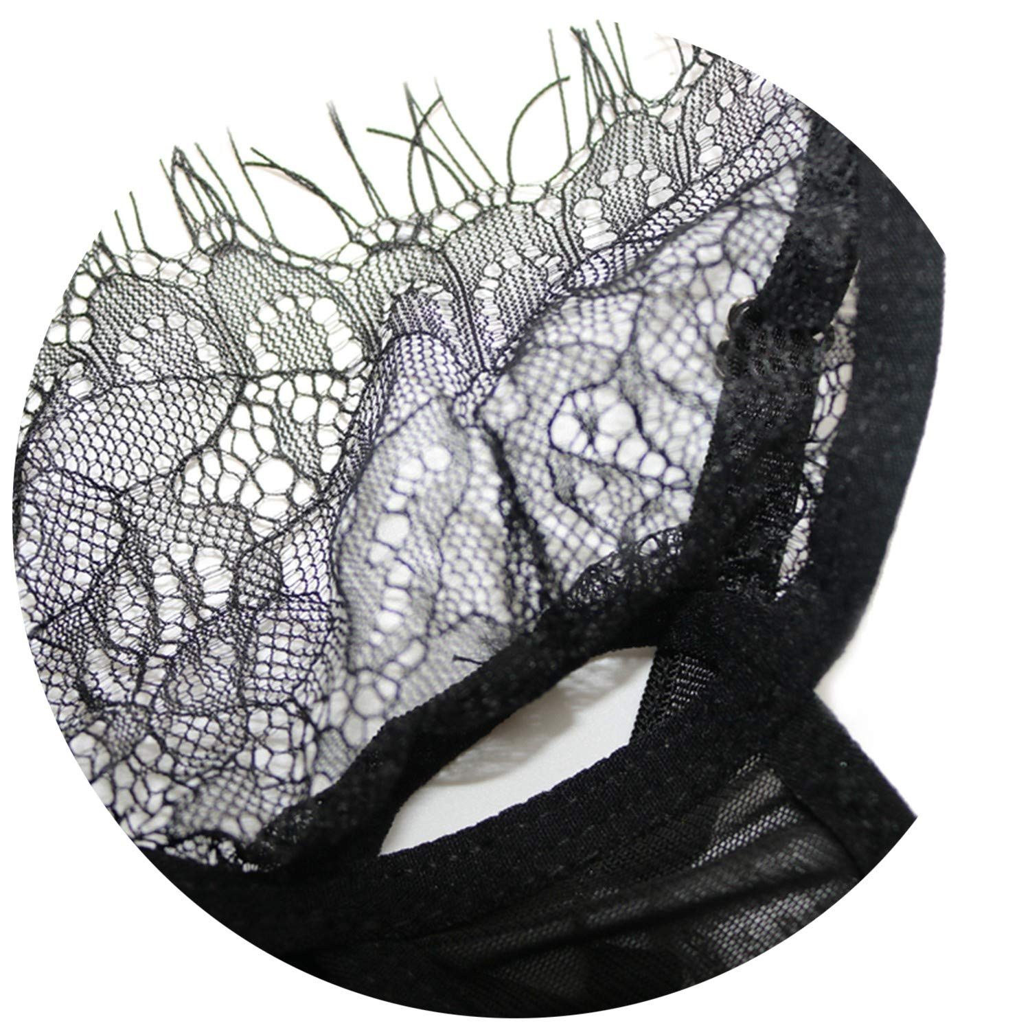 Amazon.com: Cup Wire Free lace Women Lingerie Seamless Transparent Halter Hollow Underwear Bandage Thong Panties: Clothing