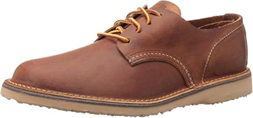 TALLA 46 EU. Red Wing Mens Weekender Oxford Leather Shoes