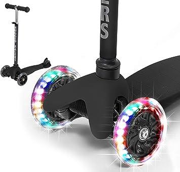 Amazon.com: Rugged Racers patinete para niños y niñas de 3 ...