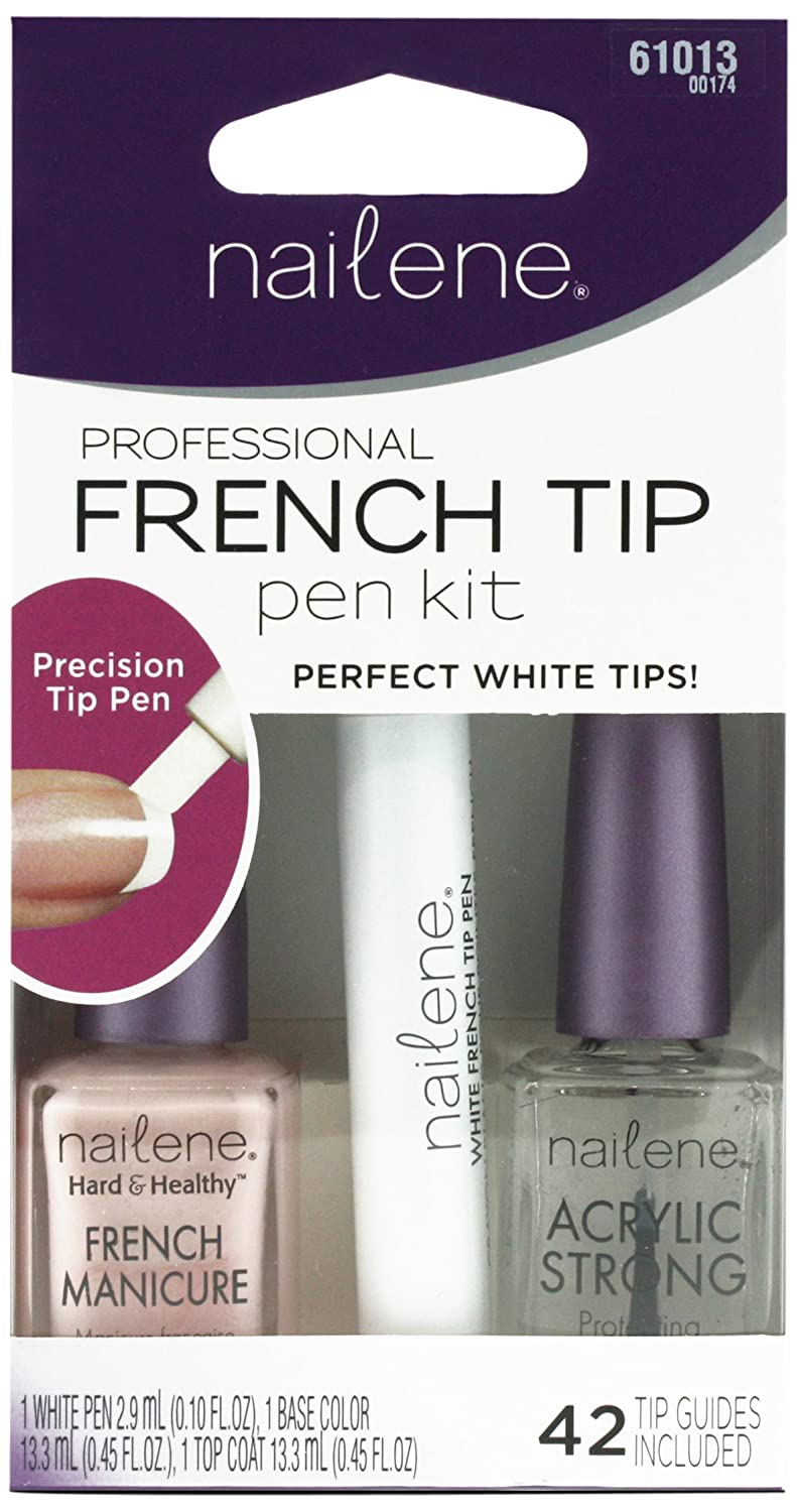 Nailene French Manicure Pen Kit Pink: Amazon.co.uk: Beauty
