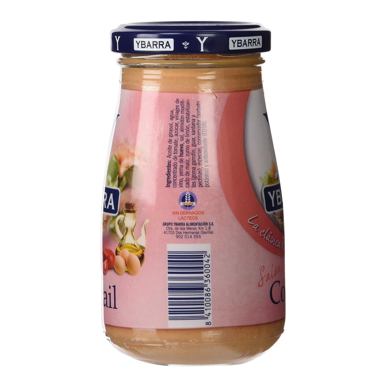 Ybarra - La clásica Rosa - Salsa Cocktail - 225 ml: Amazon.es: Alimentación y bebidas
