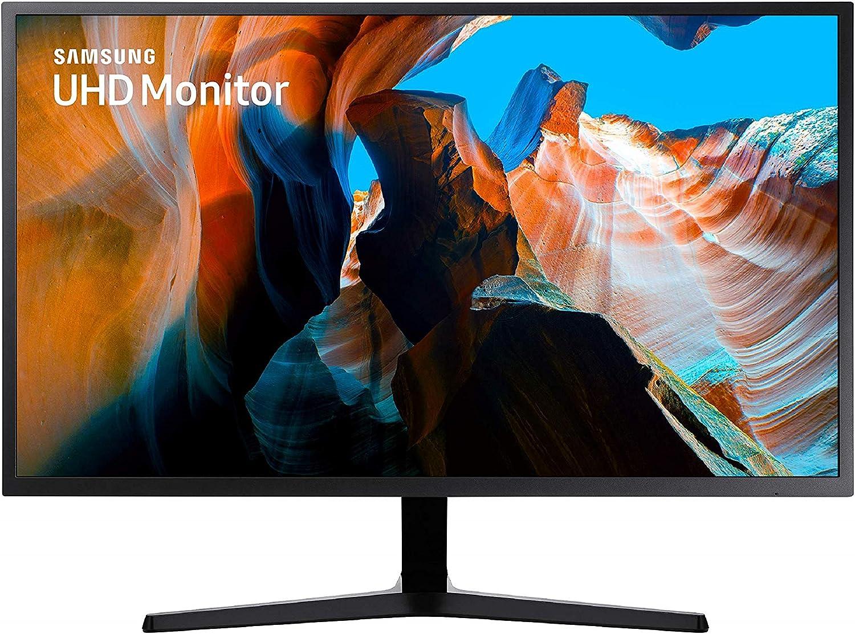 Samsung U32J592 - Monitor de 32 (4K, 4 ms, 60 Hz, FreeSync, Flicker-Free, LED, VA, 16:9, 3000:1, 270 cd/m², 178°, HDMI, Base en V) Negro: Amazon.es: Informática