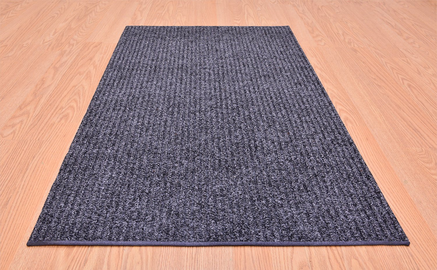 ... Size Roll Runner Grey 27 In Or 36 In Wide X Your Custom Length Choice  By Feet Slip Skid Resistant Rubber Back Area Rugs And Runners Commercial  Grade ...