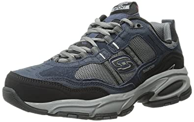 80937dd638 Skechers Vigor 2.0 - Advantage Leather Trainer 145 976 - Navy Size 8 ...