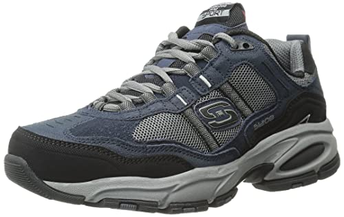 Skechers Vigor 2.0 - Advantage Leather Trainer 145 976 - Navy Size 7