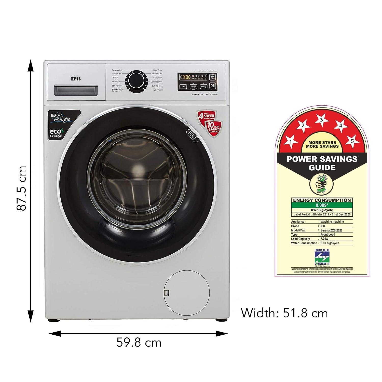 IFB 7 Kg 5 Star Fully-Automatic Front Loading Washing Machine