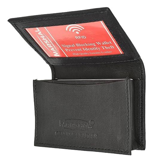 Marshal rfid blocking mens leather expandable business card case marshal rfid blocking mens leather expandable business card case wallet colourmoves