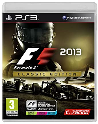 F1 2013 Classic Edition (PS3): Ps3: Amazon co uk: PC & Video