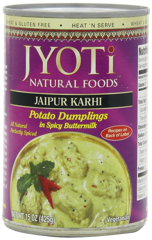 Jyoti Jaipur Karhi Organic Potato Dumplings in Spicy Buttermilk Sauce, 15 Ounce