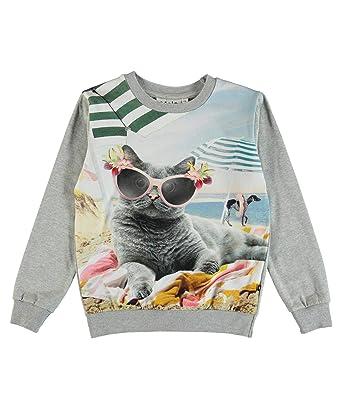 6b5b447e1b Molo Molo Mädchen Sweatshirt Regine Sweatshirts: Amazon.de: Bekleidung