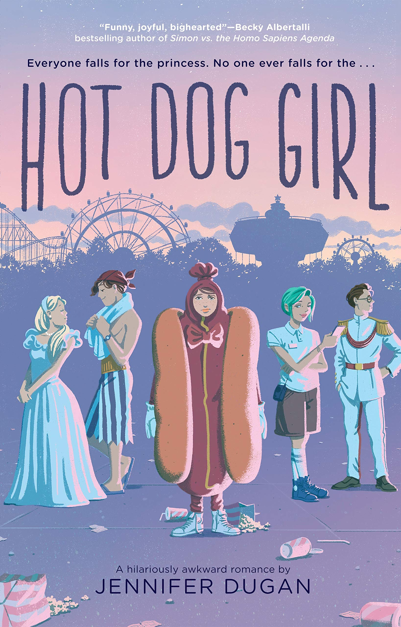 Amazon.com: Hot Dog Girl (9780525516255): Dugan, Jennifer: Books