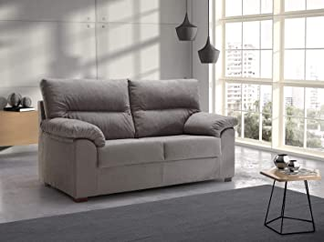 Tanuk Sofa DELLING 2 PLAZAS Gris Perla: Amazon.es: Hogar
