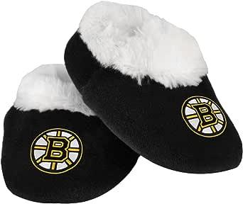 FOCO NHL Unisex-Adult-Baby Logo Baby Bootie Slipper
