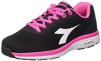 Swan 2 W, Zapatillas de Running Mujer, Gris (Grigio Pietra/Bianco), 39 EU Diadora