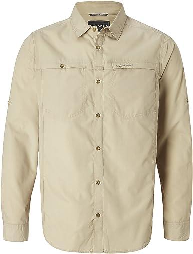Craghoppers Kiwi Trek Long Sleeved Shirt - Camisa Hombre: Amazon.es: Deportes y aire libre