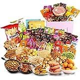 口水娃 零食大礼包 生日送女友一整箱小吃组合混装吃货零食礼盒1314g