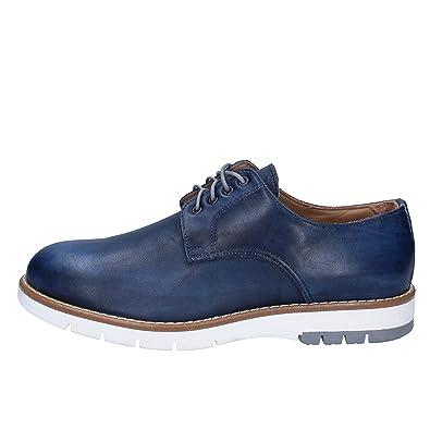 hot sale online 4a24a 8e0fc Di Mella Elegante Schuhe Herren Leder blau: Amazon.de ...