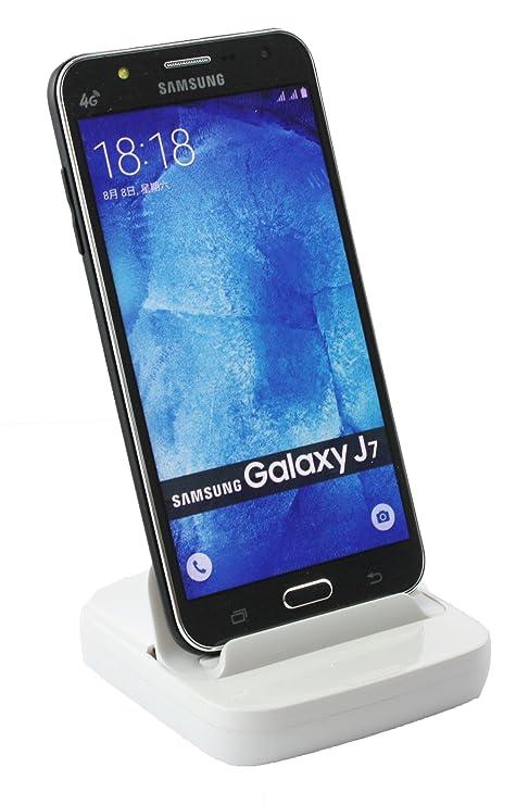 Emartbuy® Samsung Galaxy J7 SM-J700 Blanco Inteligente ...