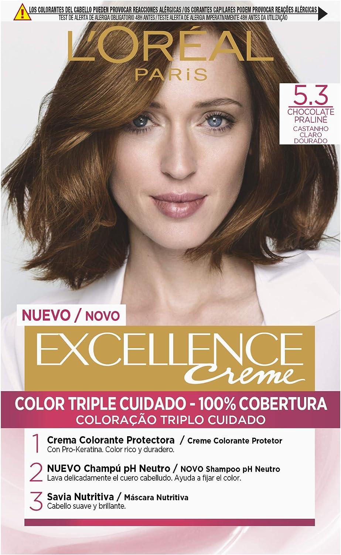 LOréal Paris Excellence Creme 5.3 Chocolate Praline - 1 ...