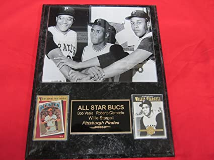 Pirates Willie Stargell 2 Card Collector Plaque