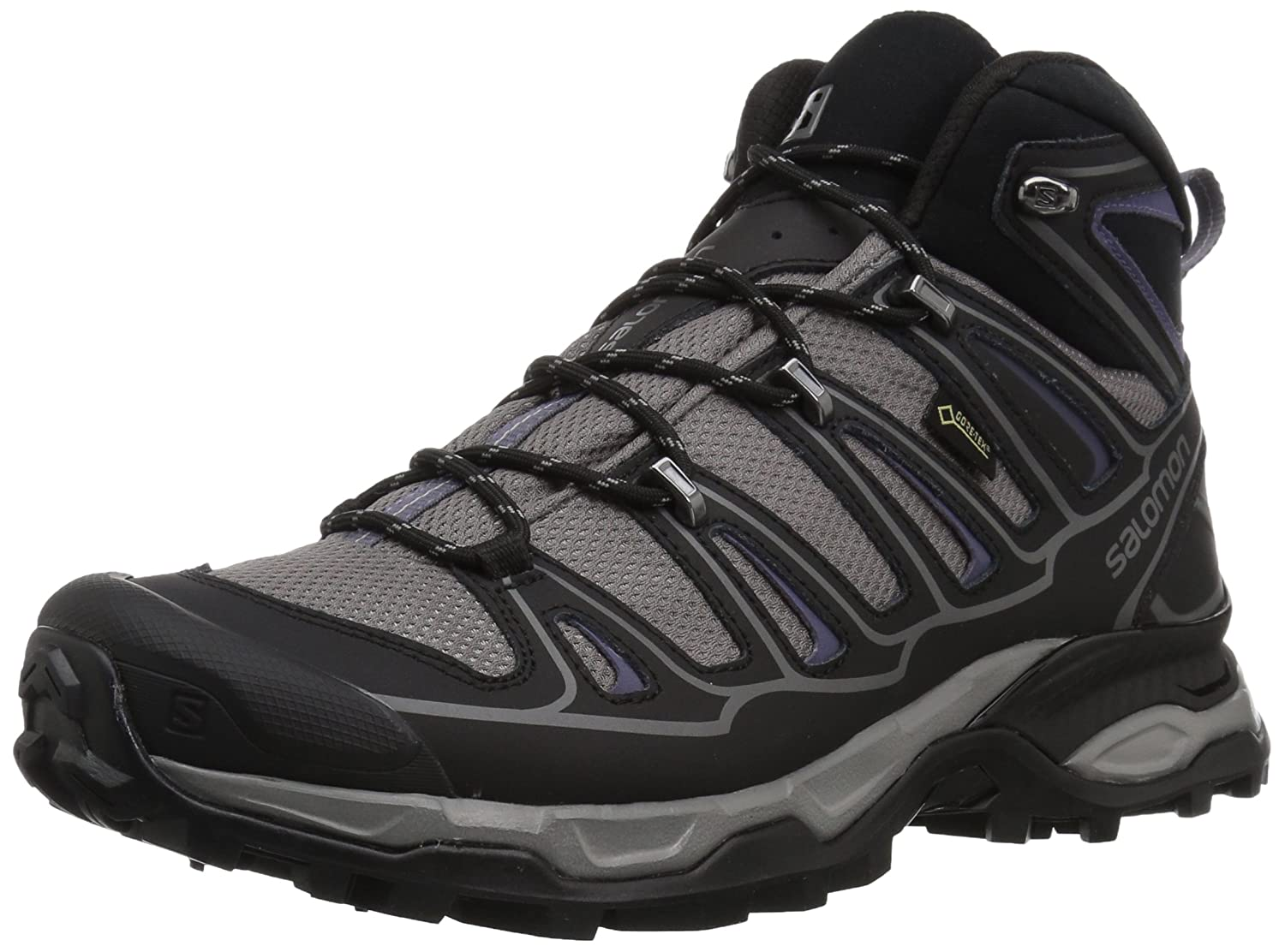 Salomon Women's X Ultra Mid 2 W Spikes GTX Snow Boot B016VWFS20 5 B(M) US|Detroit/Black/Artist Grey-x