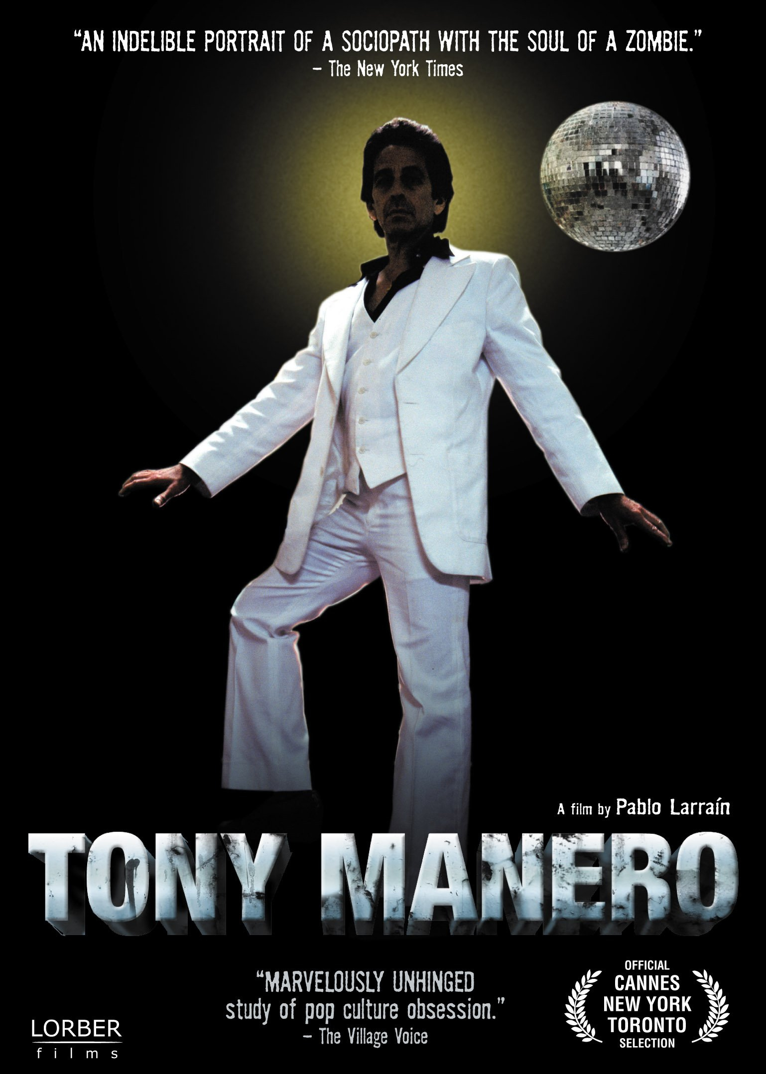 DVD : Antonia Zegers - Tony Manero (Widescreen)