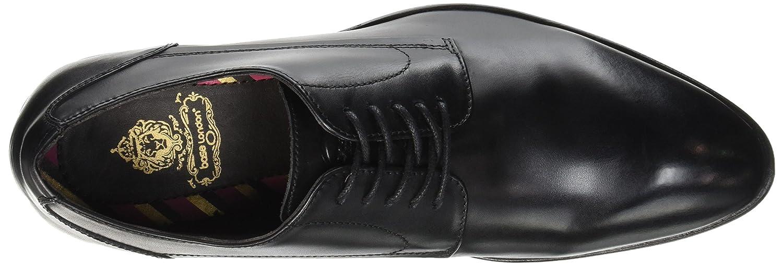 London Hommes Noir burnished Lacées Base Black Chaussures Morse zwdqn66v