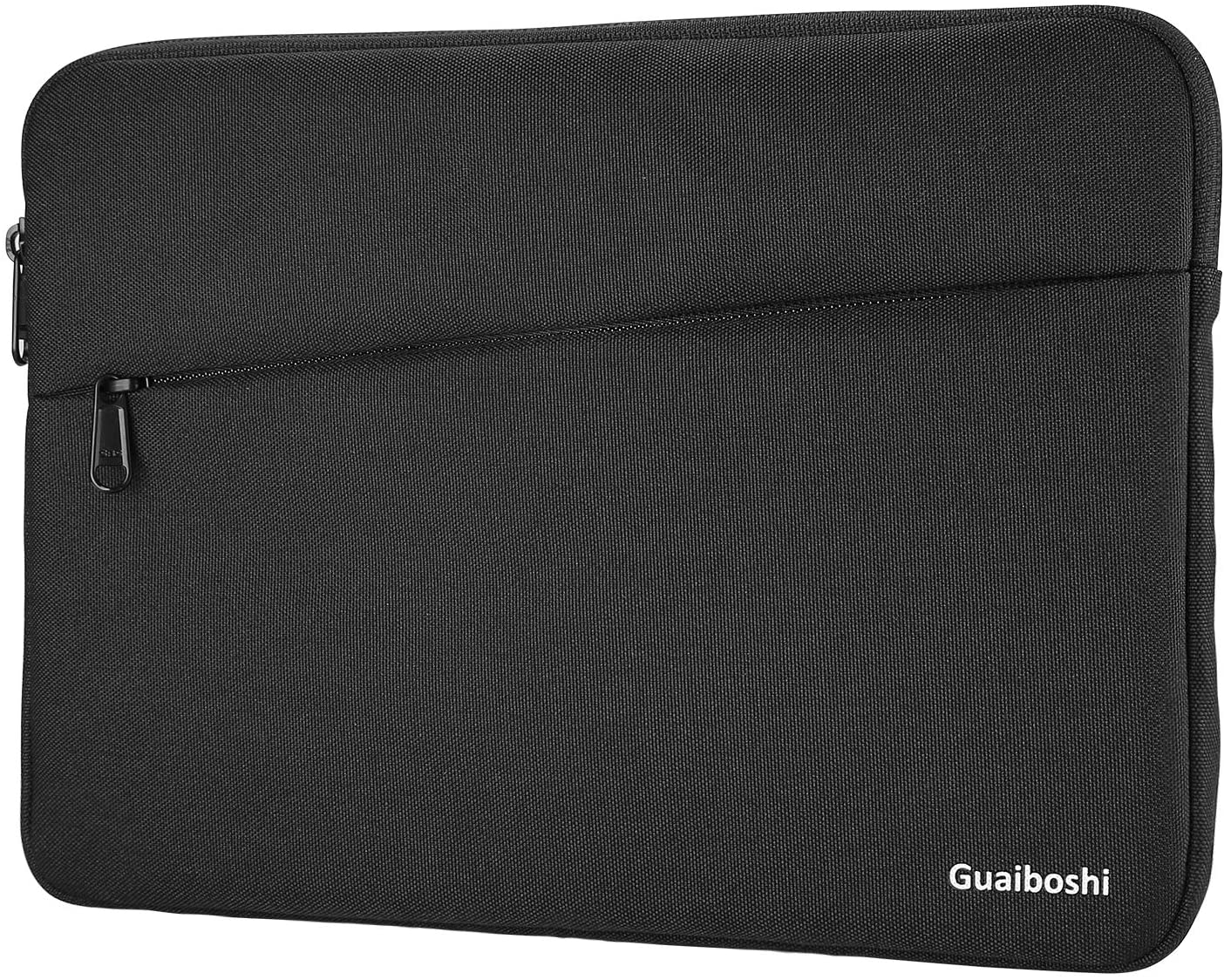 """10.5-11 inch Tablet Sleeve, Polyester Pouch Cover Case Fits 11"""" New iPad Pro 2018, 10.5"""" iPad Air 2019/ iPad Pro, Microsoft Surface Go, Samsung Tab, Fit for Apple Pencil & Smart Keyboard – Black"""