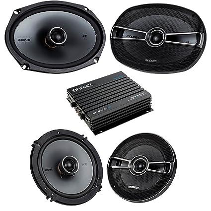 d1678a5e872 Car Speaker Bluetooth Streming Set Bundle Combo With 2 Kicker 41KSC654 6.5  inch 2-Way