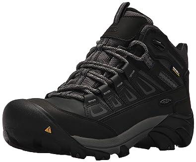 0e6437a6af3 KEEN Utility Men's Boulder Mid Waterproof Industrial Boot