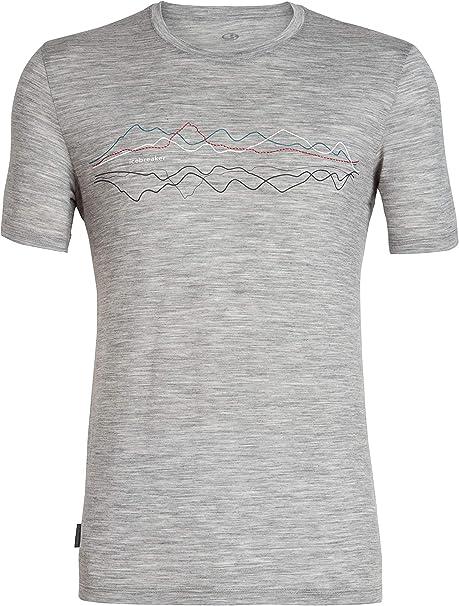 Hombre Ice Breaker Tech Lite SS Crewe Camisetas