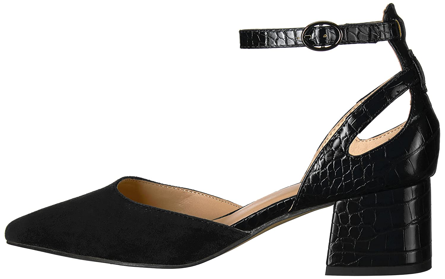 Franco Sarto Women's Caleigh Pump B06XSNWWSG 6 B(M) US|Black