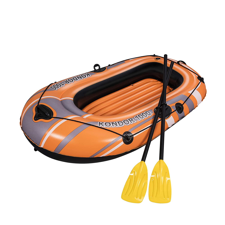 Barca Hinchable Bestway Hydro-Force Kondor 2000 Set: Amazon.es ...