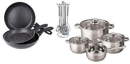 Unbekannt Premium XL – Set de Cocina/Set 17 Piezas de Cocina (de cacerolas