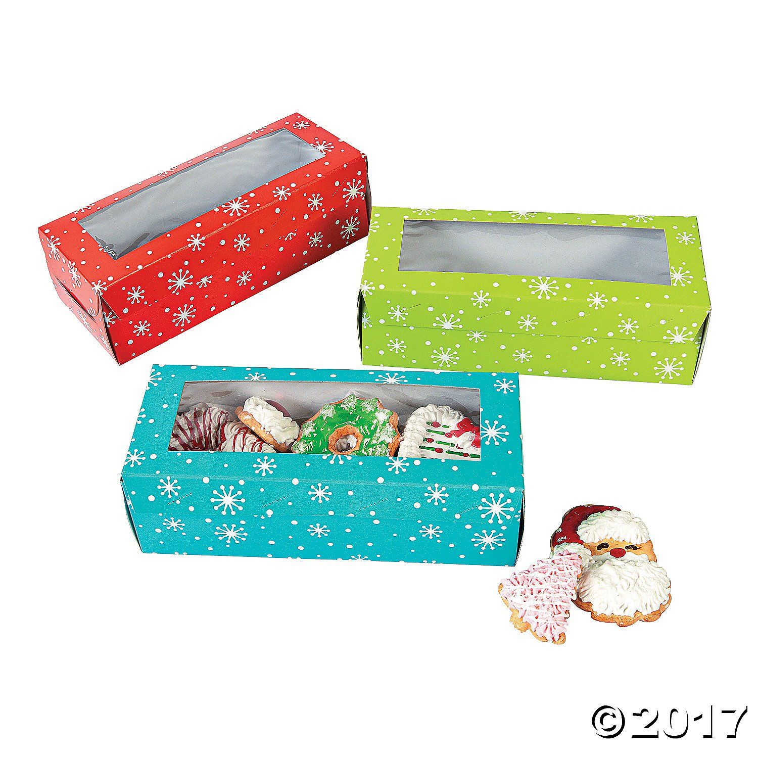 Fun365 Holiday Cookie Boxes