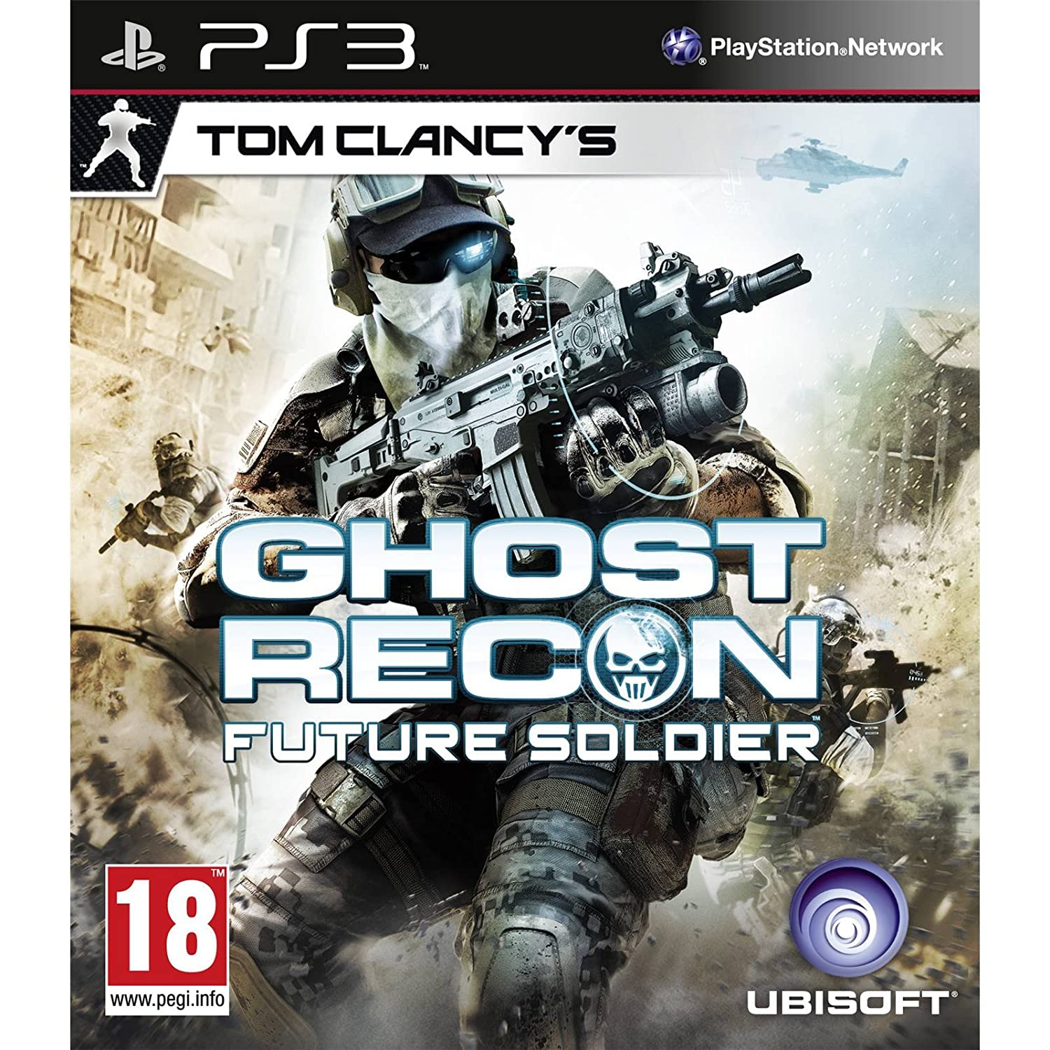 Tom Clancy's Ghost Recon: Future Soldier (PS3): Amazon co uk: PC