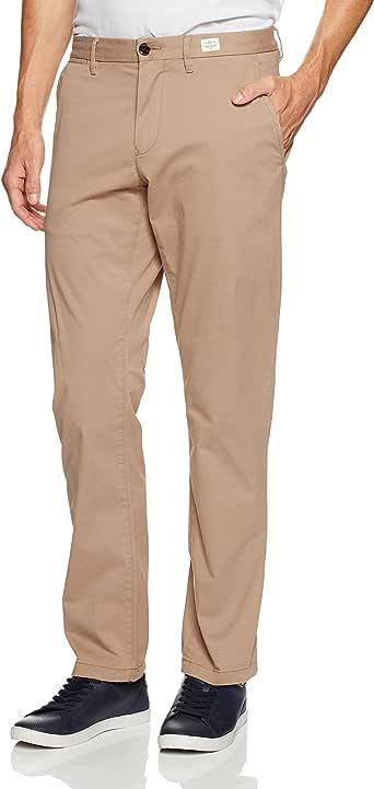 Tommy Hilfiger Men's Mercer Chino Pant, Walnut, 38W x 32W