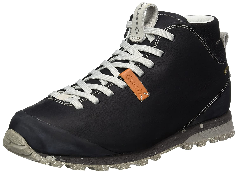 AKU 510 - Hauszapatos de Senderismo de Cuero Unisex Adultos, Color negro, Talla 46 EU negro (negro blanco 236)