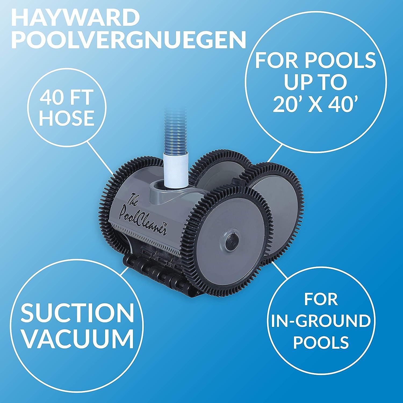 Gray Automatic Pool Vacuum Hayward W3PVS20GST Poolvergnuegen Pool Cleaner